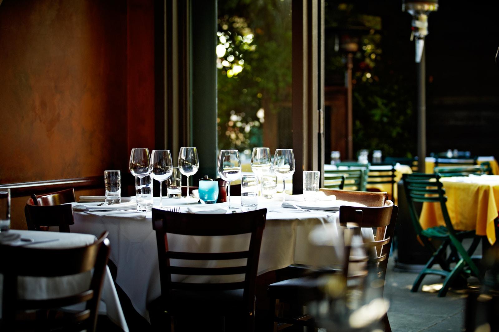 Serafina Seattle Table Setting