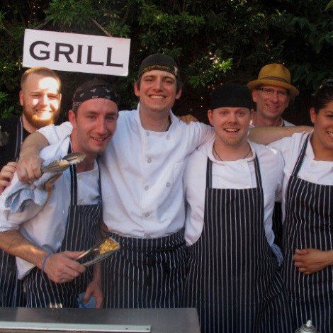 Team of Chefs at Cicchetti and Serafina