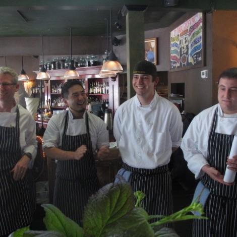 Serafina Chefs Presenting Fall Tasting Menu