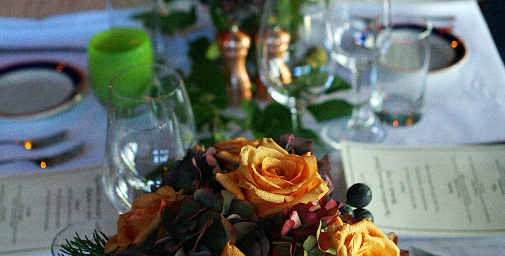 serafina catering table