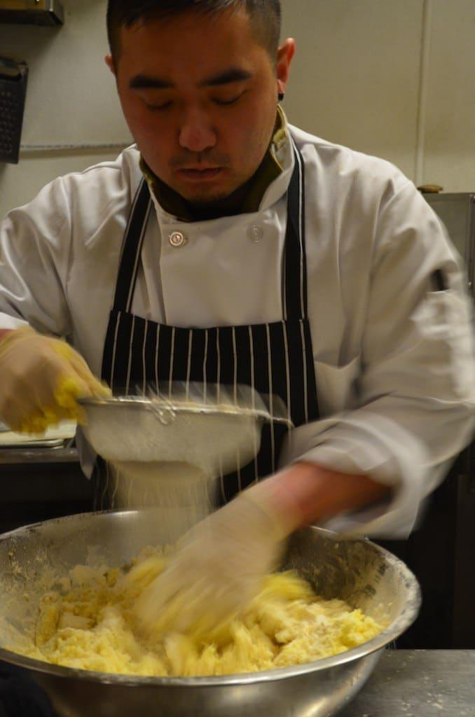 Mako Making Gnocchi