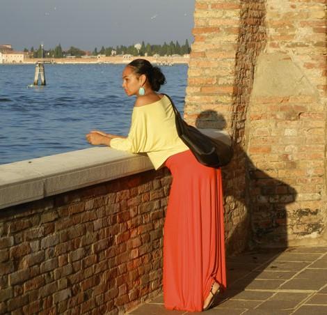 Sarah in Italy