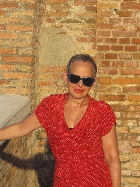 Susan in Venice