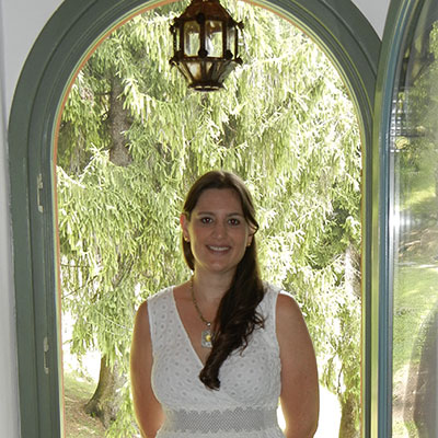General Manager, Rachel Aiken in Lake Como