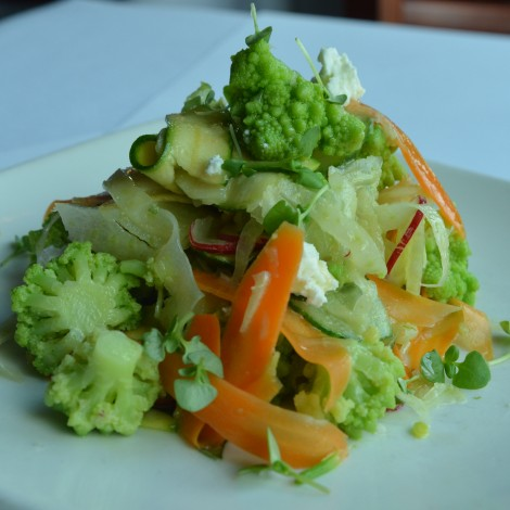 Vegetable Crudo Salad