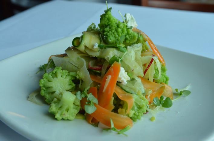 Vegetable Crudo Salad